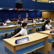 Escola Municipal Professora Luzia Levina - Foto: Lucas Cabral/ CMSJC
