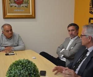 Câmara recebe visita de representantes da EDP Bandeirante