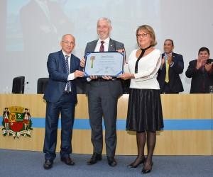Câmara concede o Título de Cidadão Joseense ao deputado Milton Vieira
