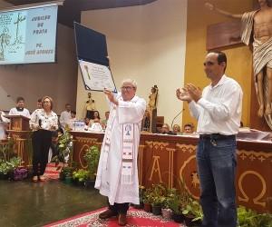 Câmara concede título de Cidadão Joseense para padre José Afonso de Souza