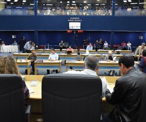 Vereadores analisam e votam 378 documentos na 25ª sessão ordinária