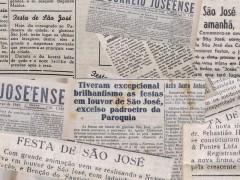 Pró-Memória guarda registros de antigamente da festa do padroeiro São José