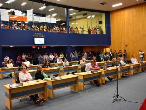 Na primeira sessão ordinária, prefeito encaminha projeto de reforma administrativa