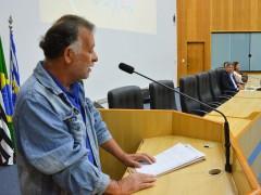Orador da Tribuna Livre pede transparência nas obras públicas