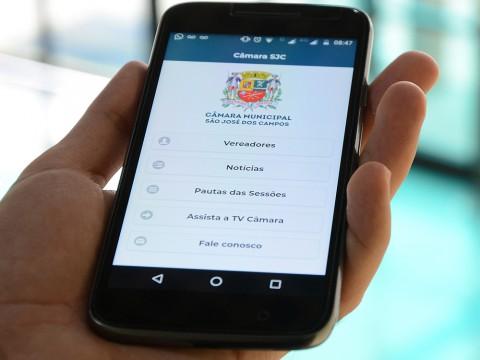Aplicativo da Câmara teve mil downloads no primeiro ano de lançamento