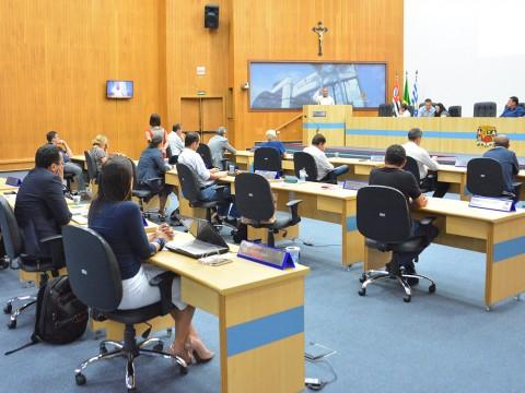 Pauta da sessão desta quinta tem propostas de asfalto ecológico e placas em braille