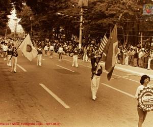 Pró-Memória preserva fotos do desfile de 1º de maio de 1977