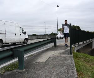 Vereador propõe proteção em viadutos e pontes para pedestres e ciclistas