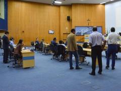 Pauta da sessão desta terça (25) tem 131 documentos para votação e leitura