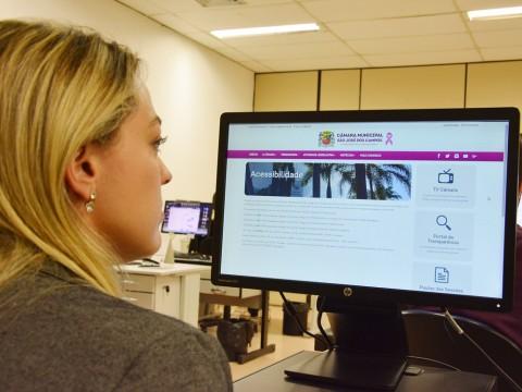 Novo site do Legislativo é finalista do Prêmio Nacional de Acessibilidade na Web