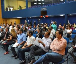 População apresenta sugestões ao orçamento estadual em audiência na Câmara