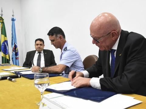 Câmara participa de transmissão de cargo do novo reitor do ITA