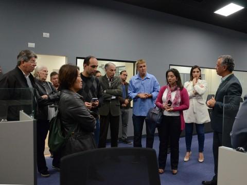 Vereadores visitam o IPPLAN no Parque Tecnológico