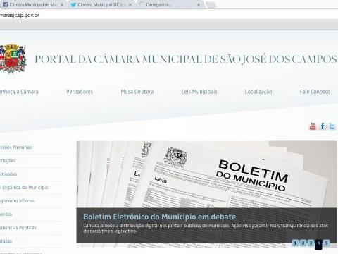 Câmara de São José lança novo site