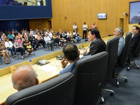 Câmara sedia cerimônia de repasses de recursos para projetos sociais da RMVale