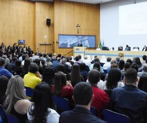 Câmara entrega medalha ao Hospital Pio XII por transplantes de medula óssea