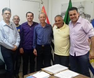Câmara de São José recebe comitiva parlamentar de Votuporanga