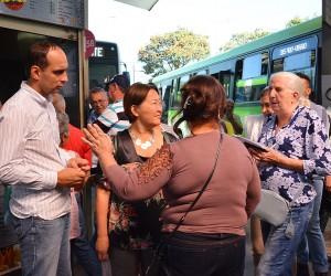 Comissão vistoria Terminal Central e ouve os usuários do transporte coletivo