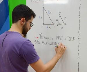 Semelhança de triângulos é tema de aula nova do eduCASD nesta quarta-feira