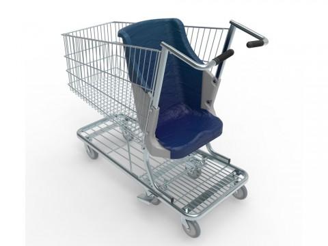 Projeto quer garantir carrinhos de compras adaptados à pessoa com deficiência