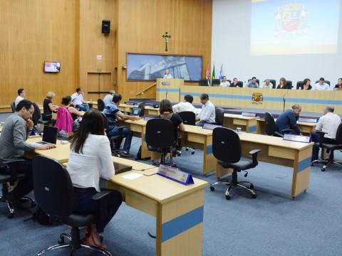 Pauta da 65º sessão de Câmara desta terça-feira (31) tem 314 documentos