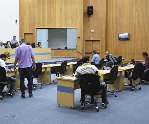 Vereadores analisam e votam 138 documentos na 59ª sessão de Câmara