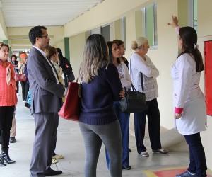 Vereadores visitam unidades de saúde mental em São José