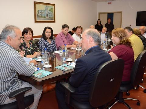 Rotary quer ampliar parceria com a Câmara para promoção de ações sociais