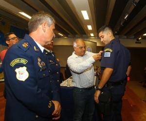 Vereadores participam de solenidade pelos 30 anos da Guarda Civil Municipal