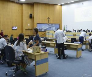 Sessão ordinária desta terça-feira (26) na Câmara tem 372 documentos na pauta