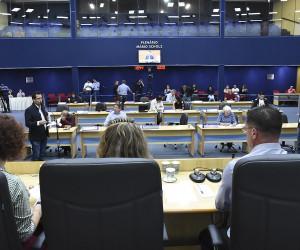 Na 67ª sessão do ano, vereadores analisam e votam cerca de 150 documentos