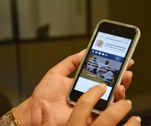 Novo site da Câmara prioriza transparência e mais interação com o cidadão