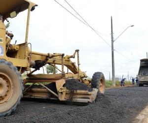 Projeto prioriza uso de asfalto ecológico feito com pneus reciclados